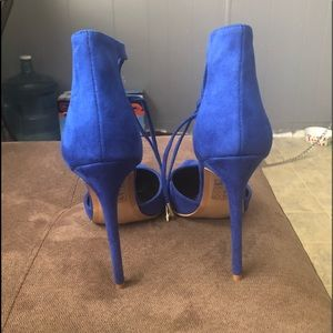Navy Blue stilettos